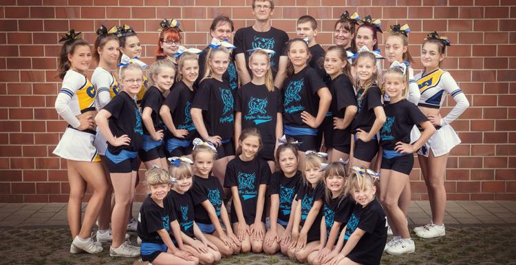 Flying Lions Cheerleader